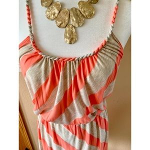 Maitai Dresses - Maitai Boutique Chevron Rope Tie Dress